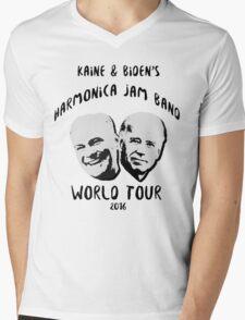 Kaine and Biden's Harmonica Jam Band World Tour Mens V-Neck T-Shirt