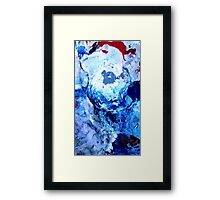 Ice Cliffs Framed Print