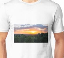 Vibrant Colors Over the Valley Unisex T-Shirt