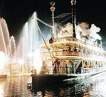 Fantasmic  by Disneyland1901