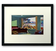 Southern Motel - Hopper x Unknown Framed Print
