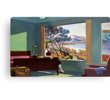 Southern Motel - Hopper x Unknown Metal Print