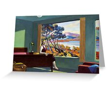 Southern Motel - Hopper x Unknown Greeting Card