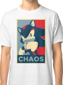 Shadow the Hedgehog (Obama Hope Poster Parody) Classic T-Shirt