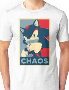 Shadow the Hedgehog (Obama Hope Poster Parody) Unisex T-Shirt