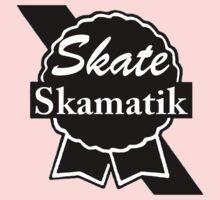 Skate Ribbon  Baby Tee
