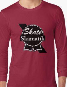 Skate Ribbon  Long Sleeve T-Shirt