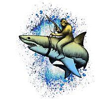 Shark-Squatch Photographic Print