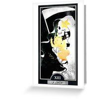 Tarot: The Death Greeting Card