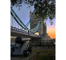 Canon at the Tower Photographic Print