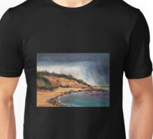Rain Over the Bluff Unisex T-Shirt