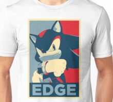 Shadow the Hedgehog 2 (Obama Hope Poster Parody) [EDGY] Unisex T-Shirt