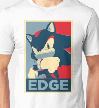 Shadow the Hedgehog 2 (Obama Hope Poster Parody) [EDGY] Unisex T-Shirt