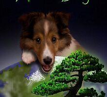 Arbor Day Sheltie by jkartlife