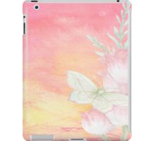 shabby chic,water color,hand painted, iPad Case/Skin