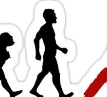 Evolution - Cricket (design 1) Sticker