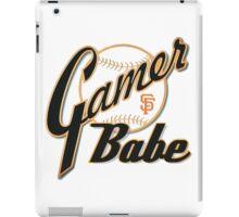 SF Giants Gamer Babe iPad Case/Skin