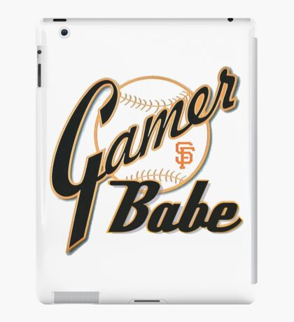 SF Giants Gamer Babe iPad Case/Skin
