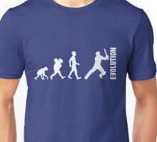 Evolution - Cricket (design 2) Unisex T-Shirt