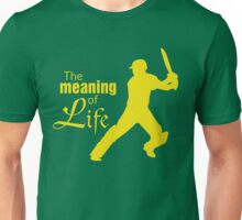 Cricket - the meaning of life Unisex T-Shirt