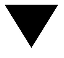 BLACK INVERTED TRIANGLE by Rock-it