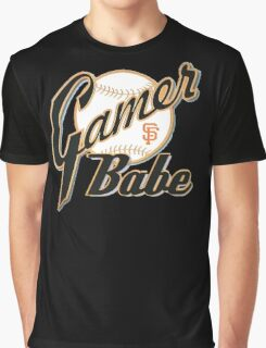 SF Giants Gamer Babe Graphic T-Shirt