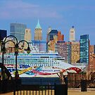 new york city sky scrape by ANNABEL   S. ALENTON