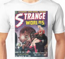 Strange Worlds - Kings of the Lost Planet - Comic Art Unisex T-Shirt
