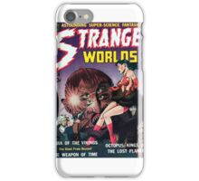 Strange Worlds - Kings of the Lost Planet - Comic Art iPhone Case/Skin
