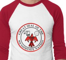 MENOMINEE NATION Men's Baseball ¾ T-Shirt