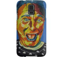 Robbin Williams acrylic on paper Samsung Galaxy Case/Skin