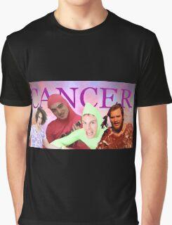 iDubbbz, Filthy Frank (Joji), MaxMoeFoe, Anything4Views CANCER Graphic T-Shirt