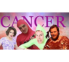 iDubbbz, Filthy Frank (Joji), MaxMoeFoe, Anything4Views CANCER Photographic Print
