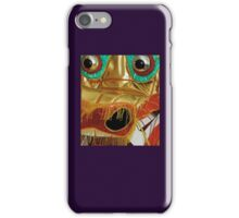 Dragon: Chrome-Eyed Gold closeup from Traditional Costume. VividScene iPhone Case/Skin