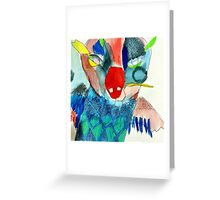 Master Owl Greeting Card