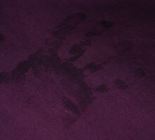Handprint on the Bed sheets by HannahLstaples