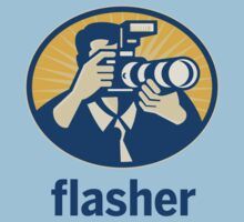 Flasher by aussietees