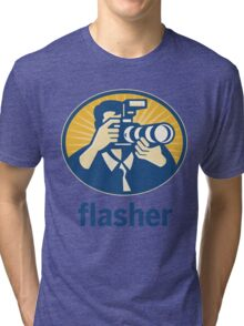 Flasher Tri-blend T-Shirt