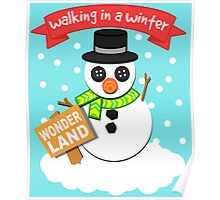 A Winter Wonderland  Poster