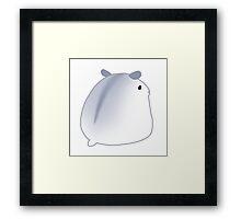 Lil Striped Hamster Framed Print
