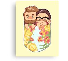 Rhett and Link - Pocket Size Dads Canvas Print