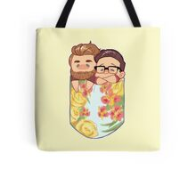 Rhett and Link - Pocket Size Dads Tote Bag