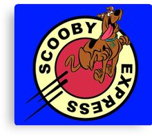 SCOOBY DOO EXPRESS Canvas Print