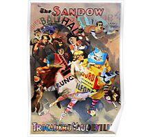 The Sandow Bauhaus Trocadero Vaudevilles. Poster