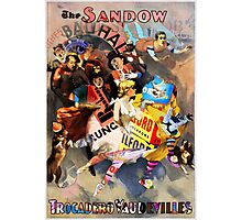The Sandow Bauhaus Trocadero Vaudevilles. Photographic Print