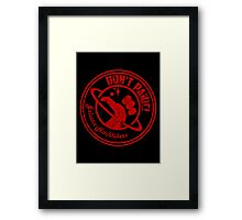 Galactic Hitchhikers Logo Framed Print