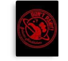 Galactic Hitchhikers Logo Canvas Print