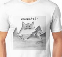 "PUN COMIC - ""MEOWTAIN"" Unisex T-Shirt"