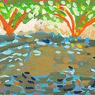 Koi Pond by John Douglas