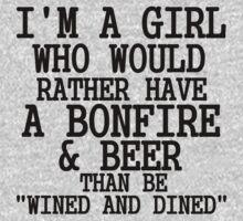 bonfire beer by Glamfoxx